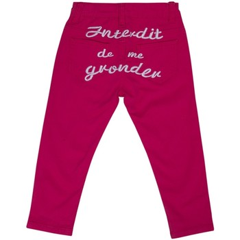 Vêtements Fille Jeans droit Interdit De Me Gronder TRENDY Rose fushia