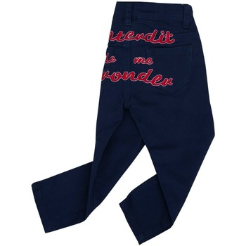 Vêtements Fille Jeans droit Interdit De Me Gronder TRENDY Rouge