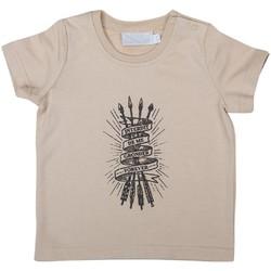 Vêtements Enfant T-shirts & Polos Interdit De Me Gronder TOTEM Beige