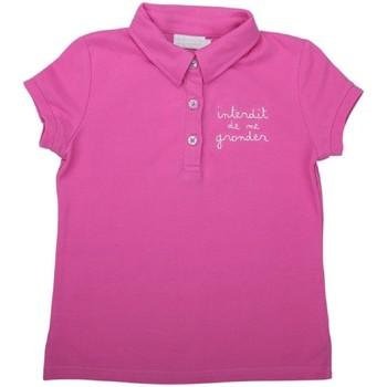 Vêtements Fille T-shirts & Polos Interdit De Me Gronder CODE Blanc