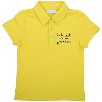 Vêtements Garçon T-shirts & Polos Interdit De Me Gronder CODE Bleu