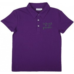 Vêtements Enfant T-shirts & Polos Interdit De Me Gronder CODE Vert