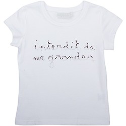 Vêtements Fille T-shirts & Polos Interdit De Me Gronder SOHO Violet