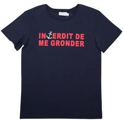 Vêtements Garçon T-shirts & Polos Interdit De Me Gronder MOUSSAILLON Rouge