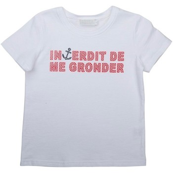 Vêtements Fille T-shirts & Polos Interdit De Me Gronder SABLE Rouge