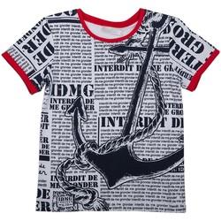 Vêtements Enfant T-shirts & Polos Interdit De Me Gronder POMPOM Bleu