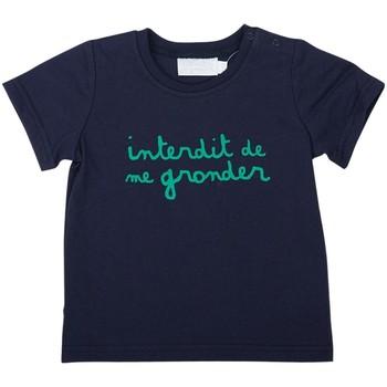 Vêtements Garçon T-shirts manches courtes Interdit De Me Gronder L'INTERDIT Vert