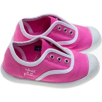 Chaussures Fille Chaussons bébés Interdit De Me Gronder SUNNY Rose