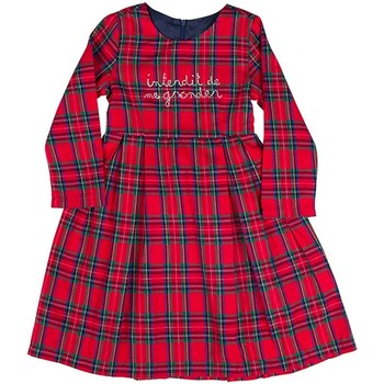 Vêtements Fille Robes Interdit De Me Gronder Skoon Rouge