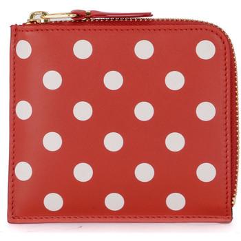 Sacs Femme Portefeuilles Comme Des Garcons Porte-monnaie Comme Des Garçons Portefeuille en cuir rouge Rouge