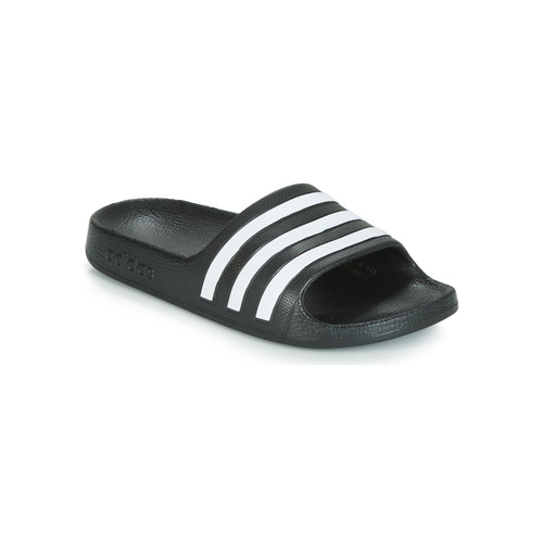Chaussures Enfant Claquettes adidas Performance ADILETTE AQUA K Noir / Blanc