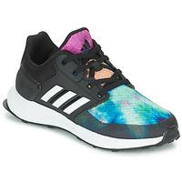 Chaussures Fille Running / trail adidas Originals RAPIDARUN X K Noir