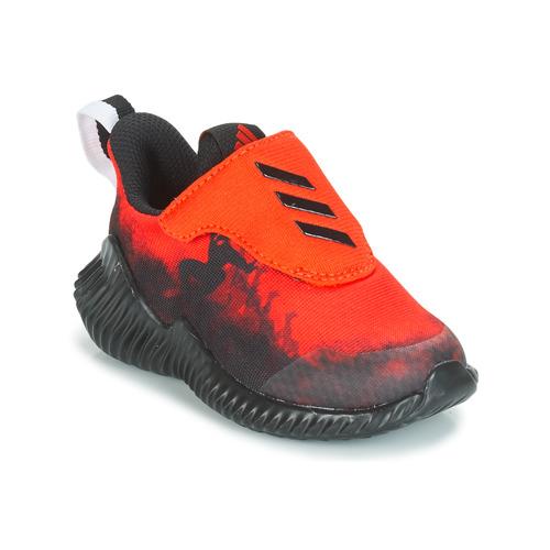 Chaussures Garçon Running / trail adidas Performance FORTARUN SPIDER-MAN Rouge / Noir