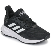 Chaussures Enfant Running / trail adidas Originals DURAMO 9 K Noir / Blanc