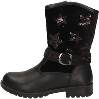 Chaussures Fille Bottines Asso AG-437 NOIR