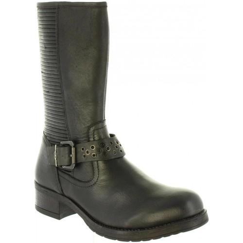Chaussures Femme Bottes ville Wrangler WL182585 FIRE Negro