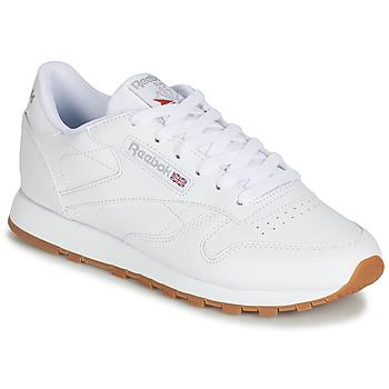 Chaussures Femme Baskets basses Reebok Classic CL LTHR Blanc