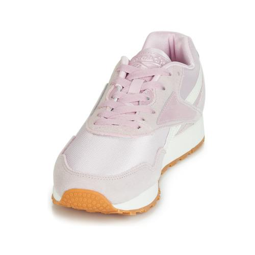 Prix Réduit Chaussures ihjdfh465DHU Reebok Classic RAPIDE Rose