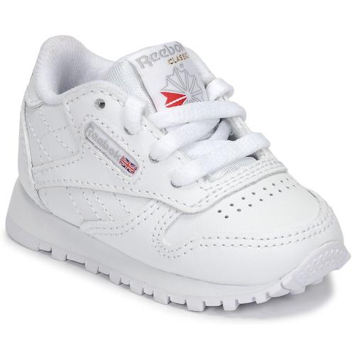 Chaussures Enfant Baskets basses Reebok Classic CLASSIC LEATHER Blanc