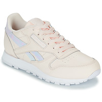 Chaussures Fille Baskets basses Reebok Classic CLASSIC LEATHER Rose