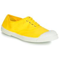 dfcede73d91f6 Chaussures Femme Baskets basses Bensimon TENNIS LACETS Citron