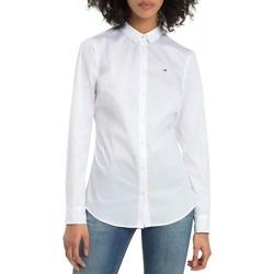 Vêtements Femme Chemises / Chemisiers Tommy Hilfiger Chemise manches longues Blanc