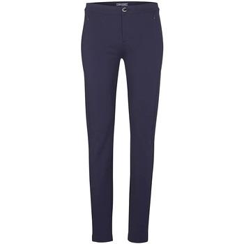 Vêtements Femme Chinos / Carrots Tommy Hilfiger Pantalon Habillé Skinny Bleu Marine