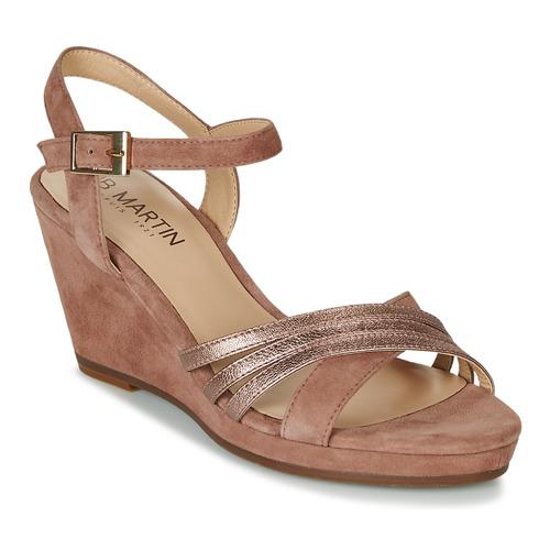 Chaussures Femme Sandales et Nu-pieds JB Martin QUOLIDAYS Camel