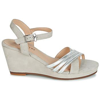 Chaussures Femme Sandales et Nu-pieds JB Martin QUOLIDAYS Gris