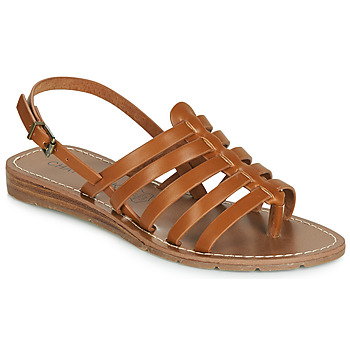 Chaussures Femme Sandales et Nu-pieds Chattawak SHIRLEY Camel