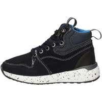 Chaussures Garçon Baskets montantes Asso 68903 BLEU