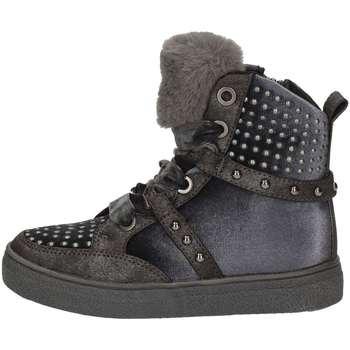 Chaussures Fille Baskets montantes Asso AG-253 Noir