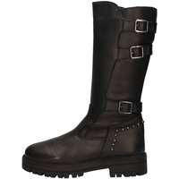 Chaussures Fille Bottes ville Asso 67962 NOIR