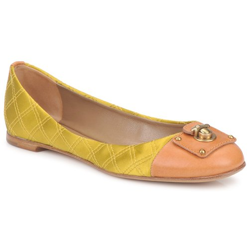 Chaussures Femme Ballerines / babies Marc Jacobs MJ18091 Jaune
