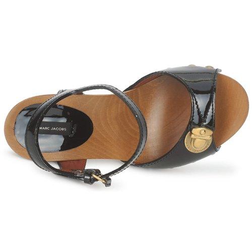 Sandales Noir Chaussures Et Nu Mj18143 Femme pieds Jacobs Marc fymI6vY7gb