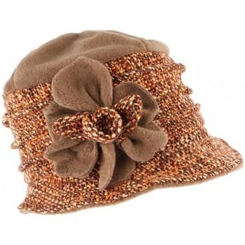 Accessoires textile Femme Chapeaux Léon Montane Toque chapeau laine femme orange marron Leana Noir