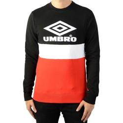 Vêtements Homme Sweats Umbro Street Crew Noir/Rouge