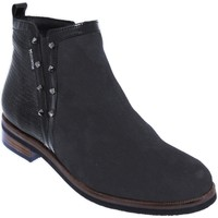 Chaussures Femme Bottines Mephisto Paulita Noir cuir