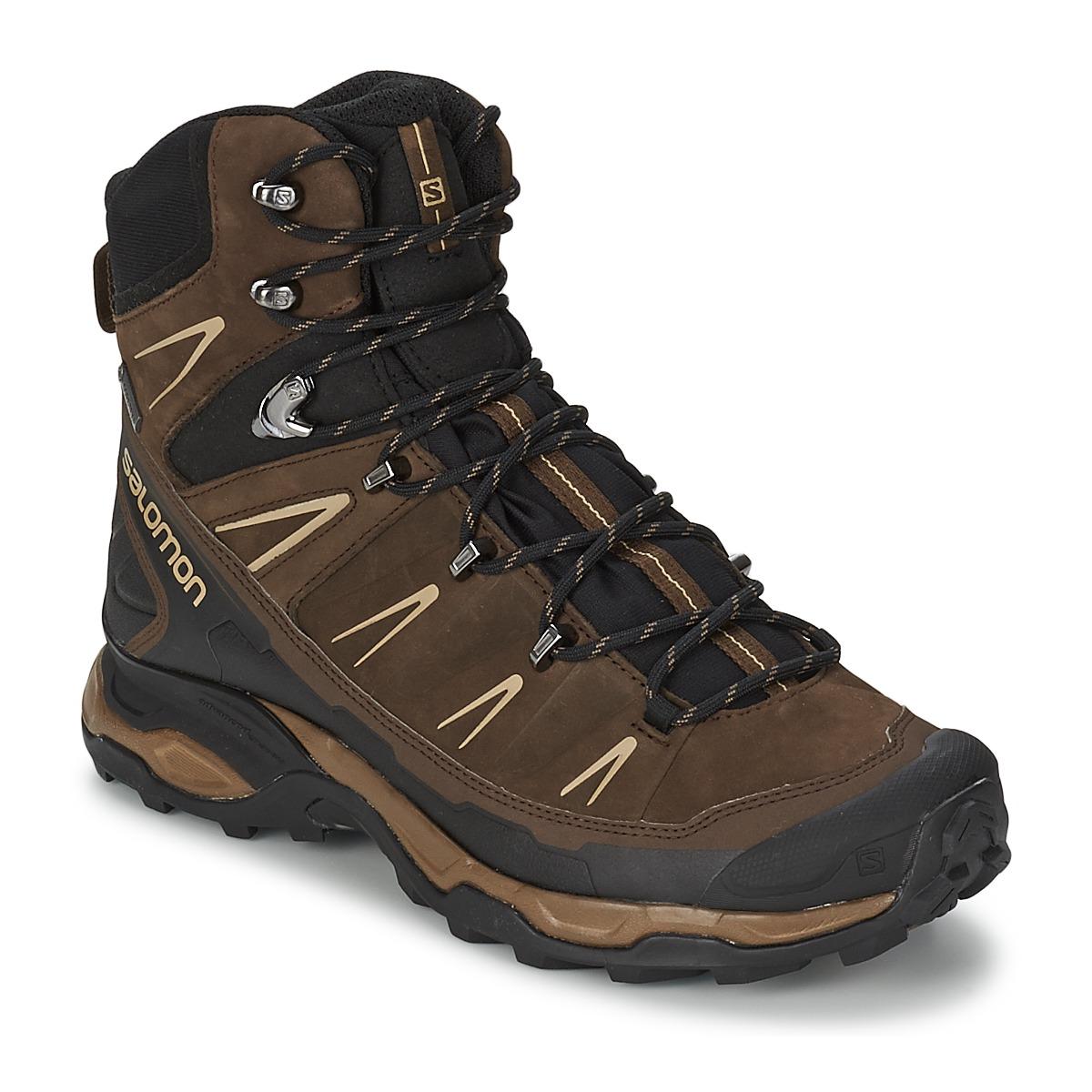 Salomon X ULTRA TREK GTX® Marron Noir Livraison Gratuite avec ! Chaussures Chaussures de randonnee Homme 160,20 €
