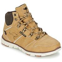 Chaussures Garçon Boots Kangaroos BLUERUN 2098 Beige