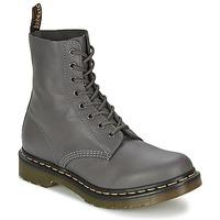 Chaussures Femme Boots Dr Martens PASCAL Gris