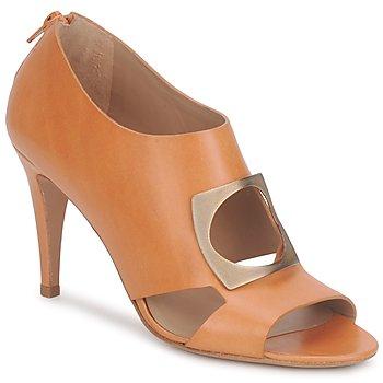 Chaussures Femme Low boots Kallisté FLORA Camel
