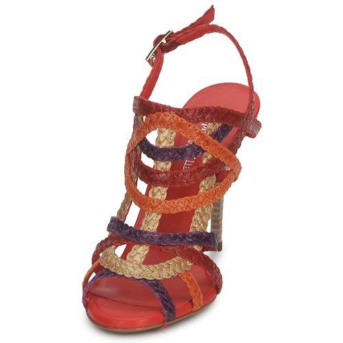 pieds Opera Chaussures multicolore Sandales Nu Stéphane Kelian Femme Bronze Et EIWD2H9