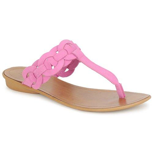 Chaussures Femme Tongs Esprit KARAYAN TONGUE Fuschia