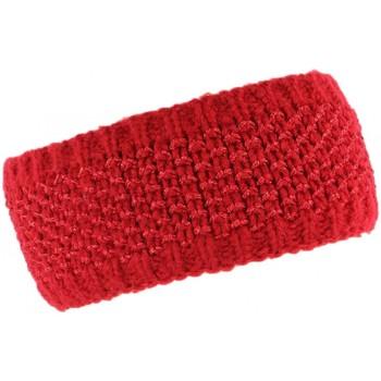 Accessoires textile Femme Bonnets Léon Montane Bandeau laine femme rouge doublure polaire Hastya Rouge