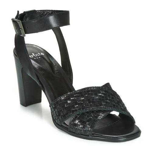 Femme Chaussures Sandales pieds Et Dominika Noir Perlato Nu TXOPkZiu