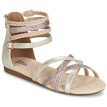 Chaussures Fille Sandales et Nu-pieds Bullboxer AED009 Doré / Rose