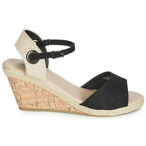 Spot F2265 Et Chaussures Nu On Noir Sandales Femme pieds HY9W2IED