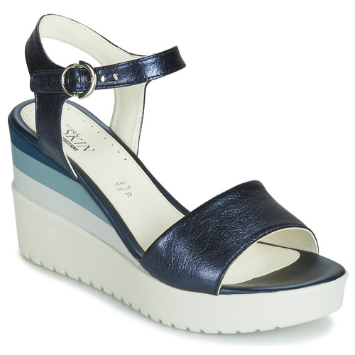 Chaussures Femme Sandales et Nu-pieds Stonefly ELY 7 LAMINATED LTH Bleu