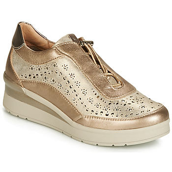 Chaussures Femme Baskets basses Stonefly CREAM 15 LAMINATED LTH Doré